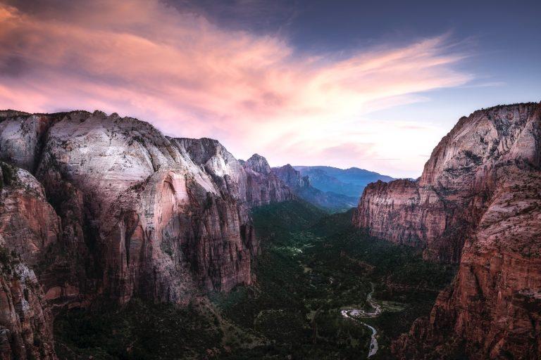 Un des meilleurs parcs nationaux américains: Zion